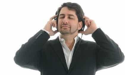 Jon Briggs headphone