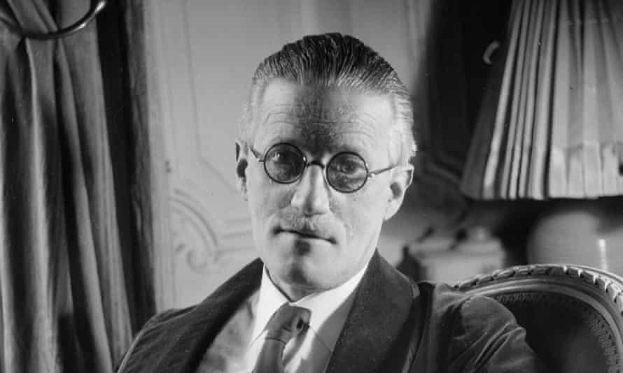 James Joyce, author of Ulysses (No 46), in 1934.