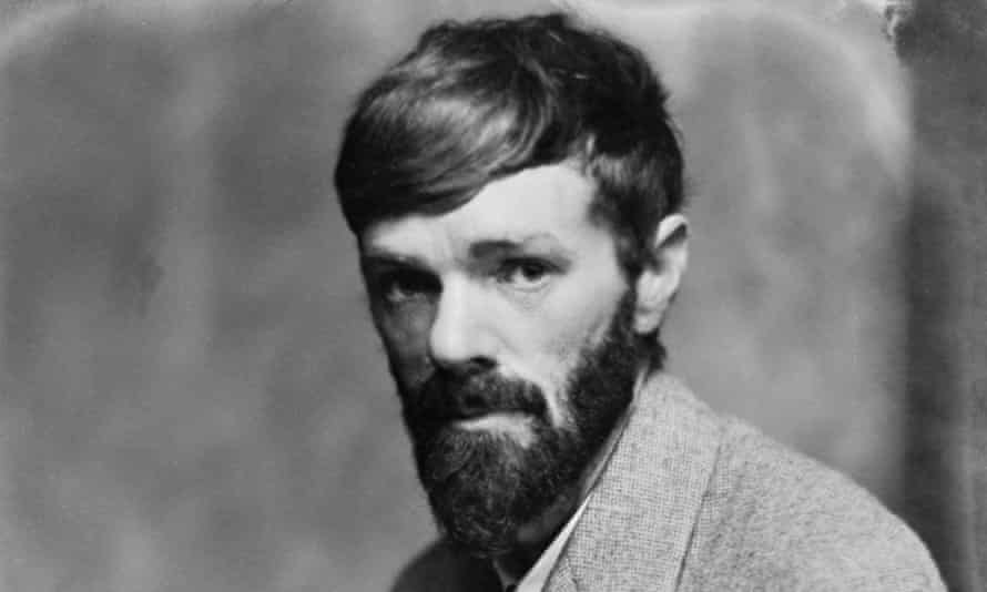 DH Lawrence, author of The Rainbow (No 43), circa 1920.