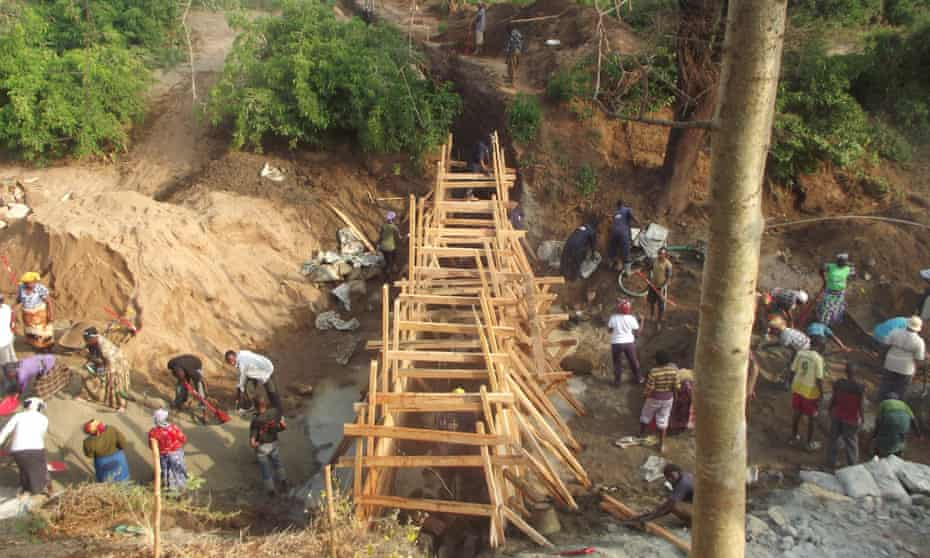construction sand dam kenya