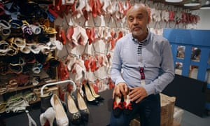 f195fad26a4 Christian Louboutin  The World s Most Luxurious Shoes review – like a cross  between a flamingo and a triceratops