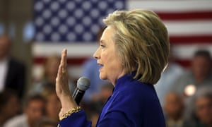 Hillary Clinton is handing over her email server to the justice department.