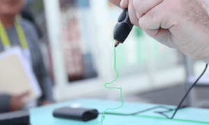 Handheld 3D printer pens allow solid structures to be made from drawing in the air.
