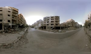 Welcome to Aleppo is a short virtual-reality film about Syria.