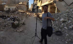 Setting up a camera system that resembles an IED is 'precarious'