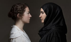 Felicity Houlbrooke and Filipa Bragança in Henry Naylor's play Echoes at Edinburgh