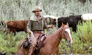 Riding high … Kevin Costner in Open Range