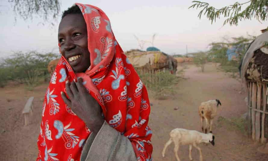 'Every day I wake and smile to myself': Norkorchom from Turkana.