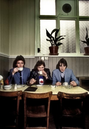 Frank's Cafe Beak St 1978 by Martyn Goddard, part of The Jam: About the Young Idea at Somerset House