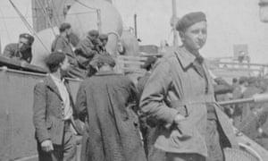 Janina Struk's father Wladyslaw aboard the Arandora Star in June 1940