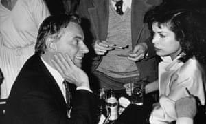 Gore Vidal with Bianca Jagger in 1979. Photograph: Fotos International/Getty Images