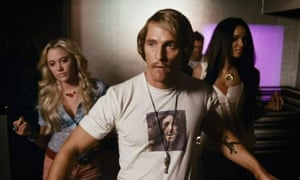 Matthew McConaughey as David Wooderson in Dazed and Confused.