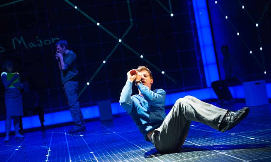 Seeing ****s … Luke Treadaway as Christopher in the National Theatre production of The Curious Incident Of The Dog In The Night-Time