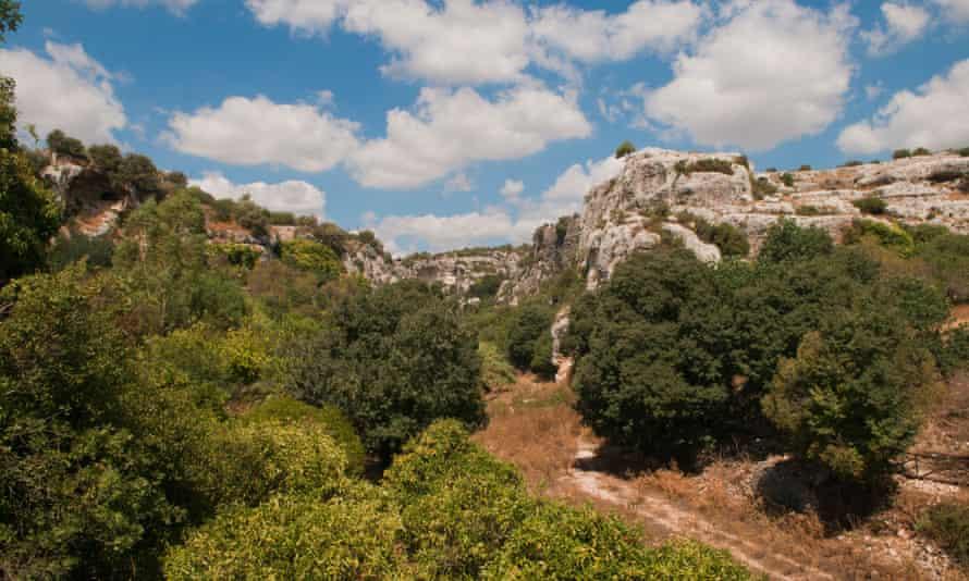 Cava d'Ispica, Sicily.