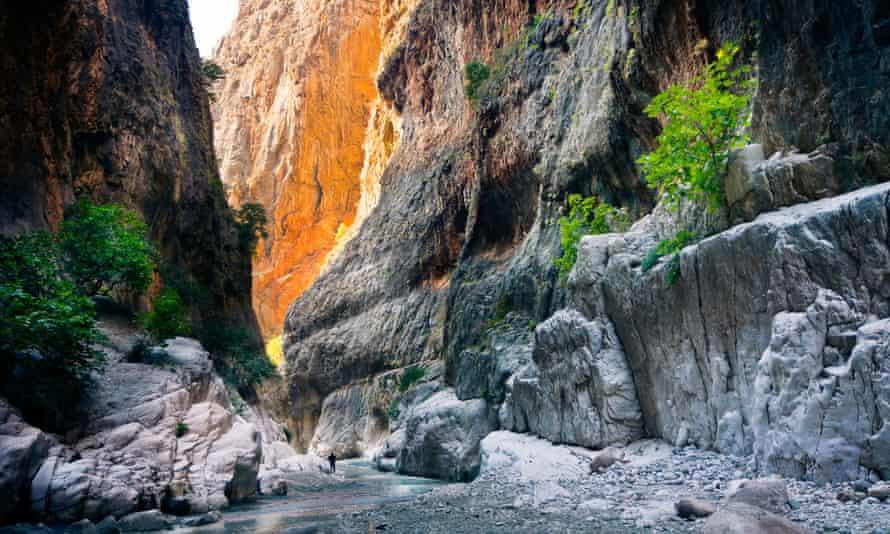 Saklikent Gorge Canyon in Turkey.