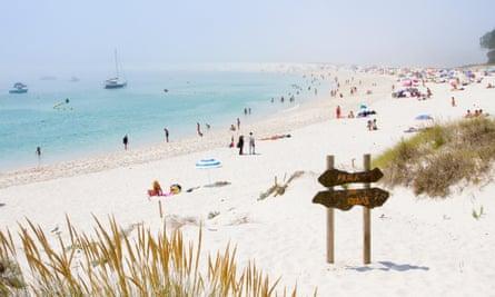 Praia knowledge … Rodas beach, on the Cíes Islands near Vigo.