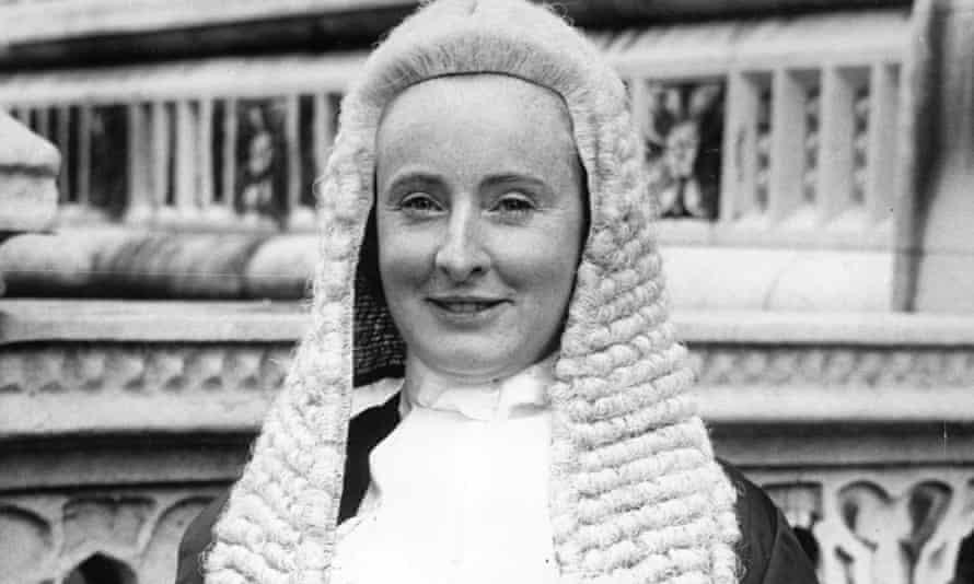 Barbara Calvert in 1975.