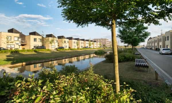 Lots of open space gives Barking Riverside a serene atmosphere.