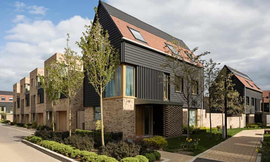Abode's housing development in Great Kneighton, near Cambridge.