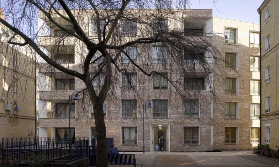 Darbishire Place in London by Níall McLaughlin Architects.
