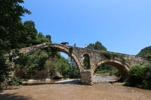 An ancient bridge on the even more ancient Via Egnatia.