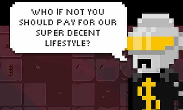 A new character in Shooting Stars is impossible to kill if you've pirated the game.