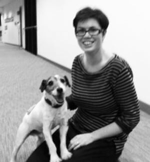 Pam and Uggie