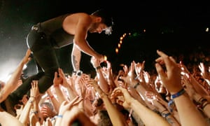 Surfin' NSW: Foals perform at Splendour In the Grass 2014.
