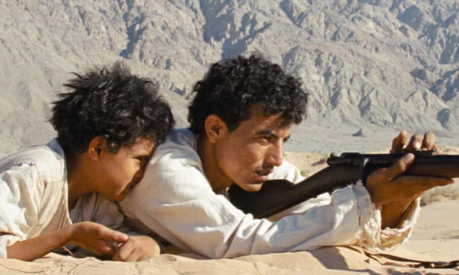 Jacir Eid Al-Hwietat and Hussein Salameh Al-Sweilhiyeen in Theeb