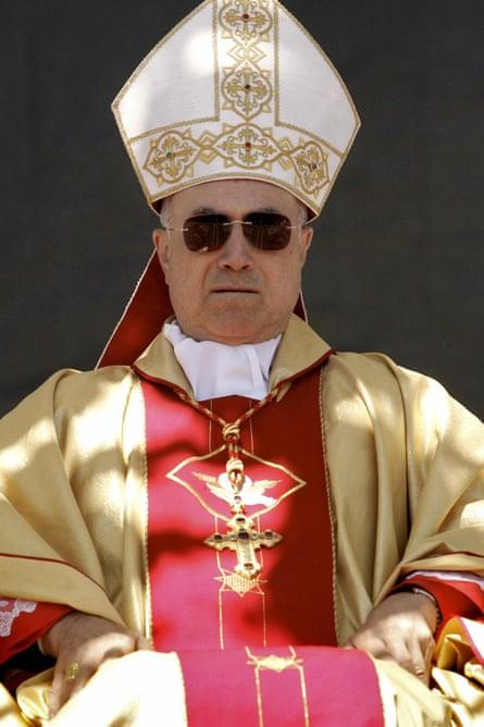 Cardinal Tarcisio Bertone.