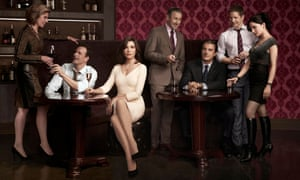 The cast of The Good Wife.