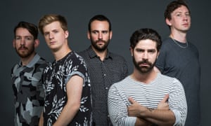 Animal magic: (from left) Edwin Congreave, Jack Bevan, Jimmy Smith, Yannis Philippakis and Walter Gervers.
