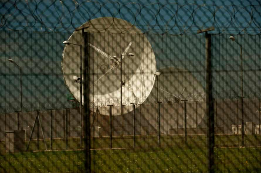 A GCHQ outpost in Cornwall.