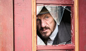 Leading the investigation … Jerome Flynn as   Detective Sergeant Bennet Drake in Ripper Street. Phot