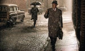Spying in the rain: Tom Hanks in Bridge of Spies