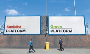 Platform posters