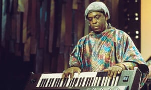Sun Ra performing live in 1976.