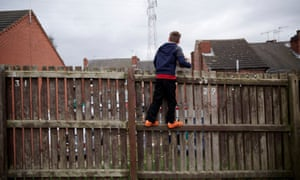 child playing in rotherham