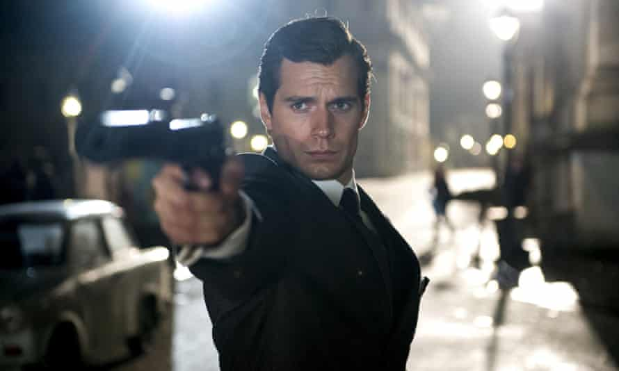 Henry Cavill as Napoleon Solo in The Man from UNCLE