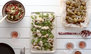 A Barbecued Squid Recipe To Impress Your Friends Feasting