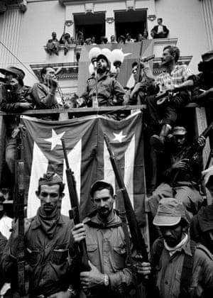 Castro speaks in Santa Clara, 5 January, 1959 by Burt Glinn.