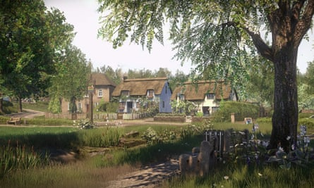 The village of Yaughton in the game Everybody's Gone to the Rapture.
