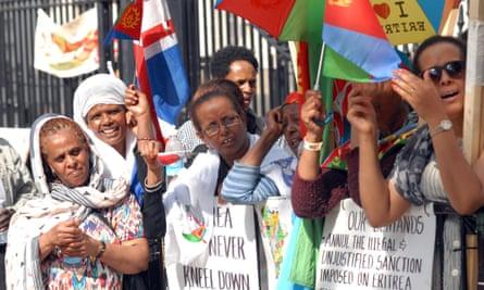 Eritrea protest