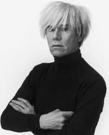 Warhol was 'a long way from the dead-eyed Martian of legend'.