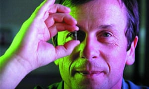 Kevin Warwick … 'the world's first cyborg'