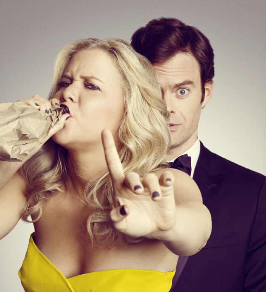 Hader with Amy Schumer in Trainwreck.