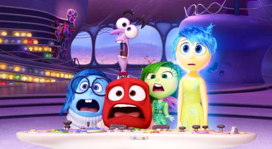 Hader was the voice of Fear in this year's film Inside Out.