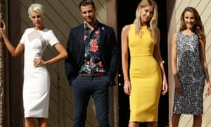 Looks from the Myer Spring 15 collection.