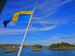 Island hopping in Gothenburg, Sweden