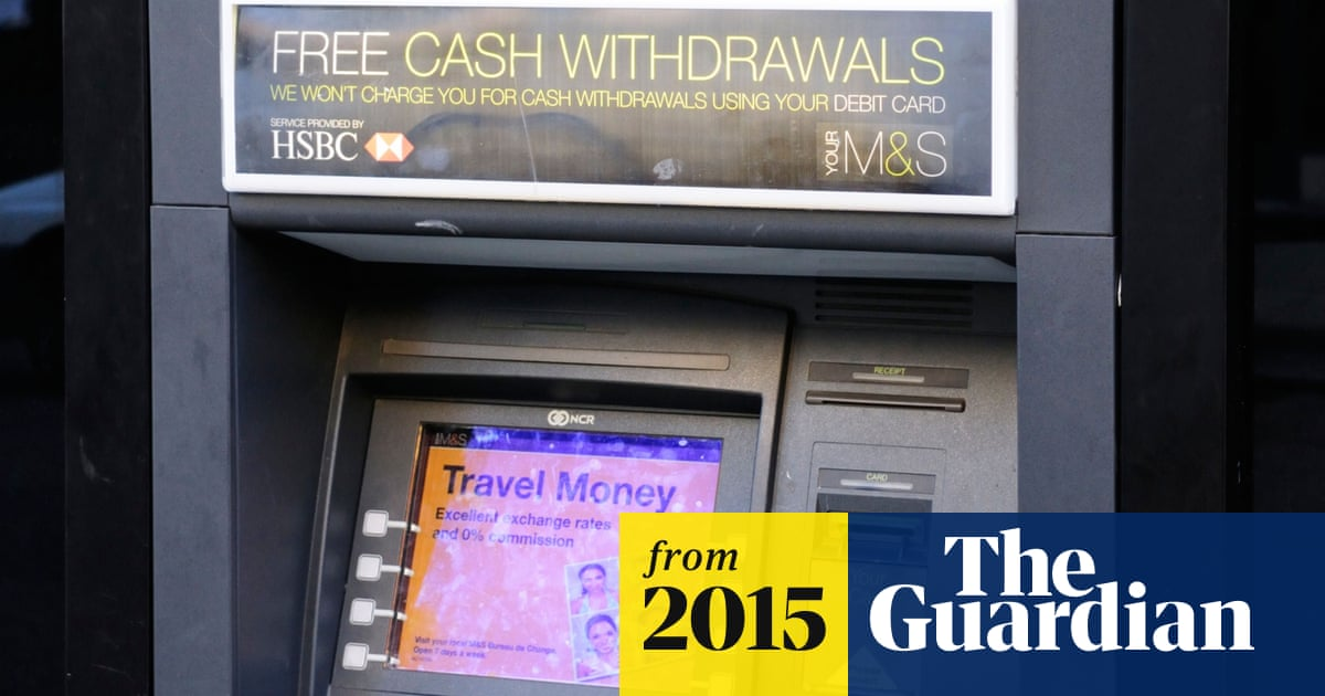 Rates rule could doom free ATMs outside shops | Money | The